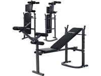 New - Foldable Weight Bench - Good Quality and with a set of dumbells