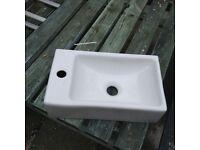 New small ceramic sink