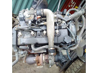 Toyota D4D 2.5TD diesel engine and gearbox for TOYOTA Hilux 4x4.