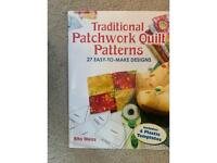 Traditional patchwork quilt patterns book