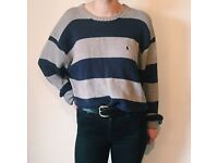 Vintage Ralph Lauren Striped Jumper