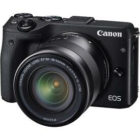 Canon EOS M3. Brand new boxed unopened
