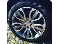 Land Rover alloys and tyres