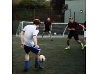 Spaces for new teams and individuals in Clapham Junction 5-a-side league!