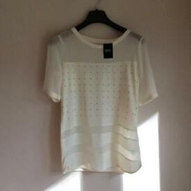 NEXT BRAND NEW with TAG women's top size 10