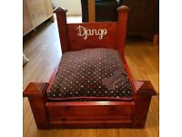 custom and personalised cat or dog beds