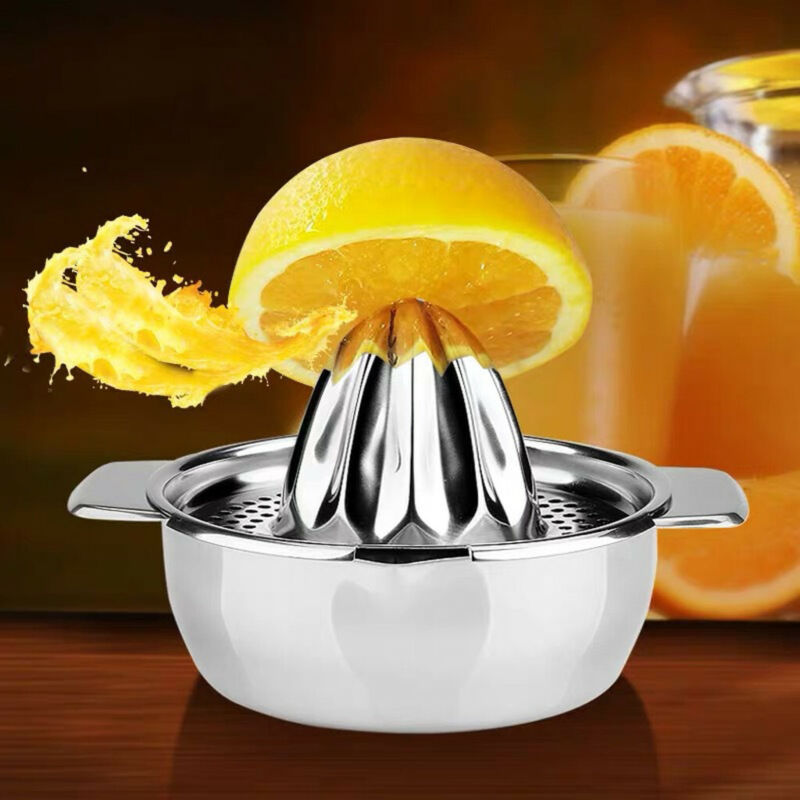 Stainless Steel Lemon Orange Squeezer Juicer Hand Manual Pre