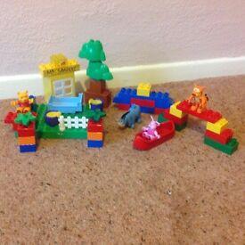 Duplo Lego Winnie the Pooh set