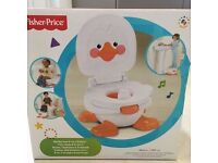 FISHER PRICE DUCKY FUN 3 IN 1 POTTY