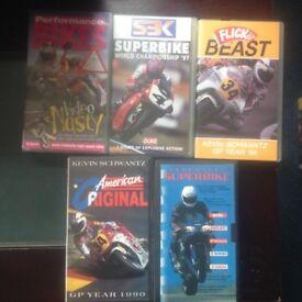 Motorbike vhs videos