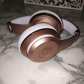 Wireless Rose Gold Dr. Dre Solo3 Beats