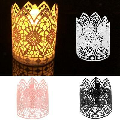 6Pcs Wedding Party Tea Light Holder Paper Lanterns Votive Ca