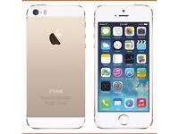 I Phone 5s 16GB Unlocked Champaign Gold