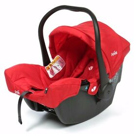 JOIE JUVA GROUP CAR SEAT (RED) 0-13 KG