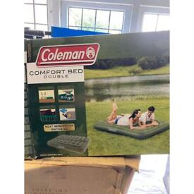 Coleman Inflatable Double Bed & Pump