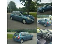 2004 renault clio 1.1 with full main dealer history