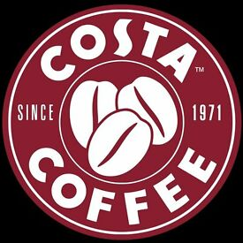 Costa Coffee Edinburgh Airport £8.20 - £8.40 Ph