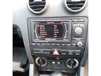 Audi satnav stereo