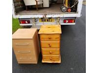 4 drawer soild pinewood locker