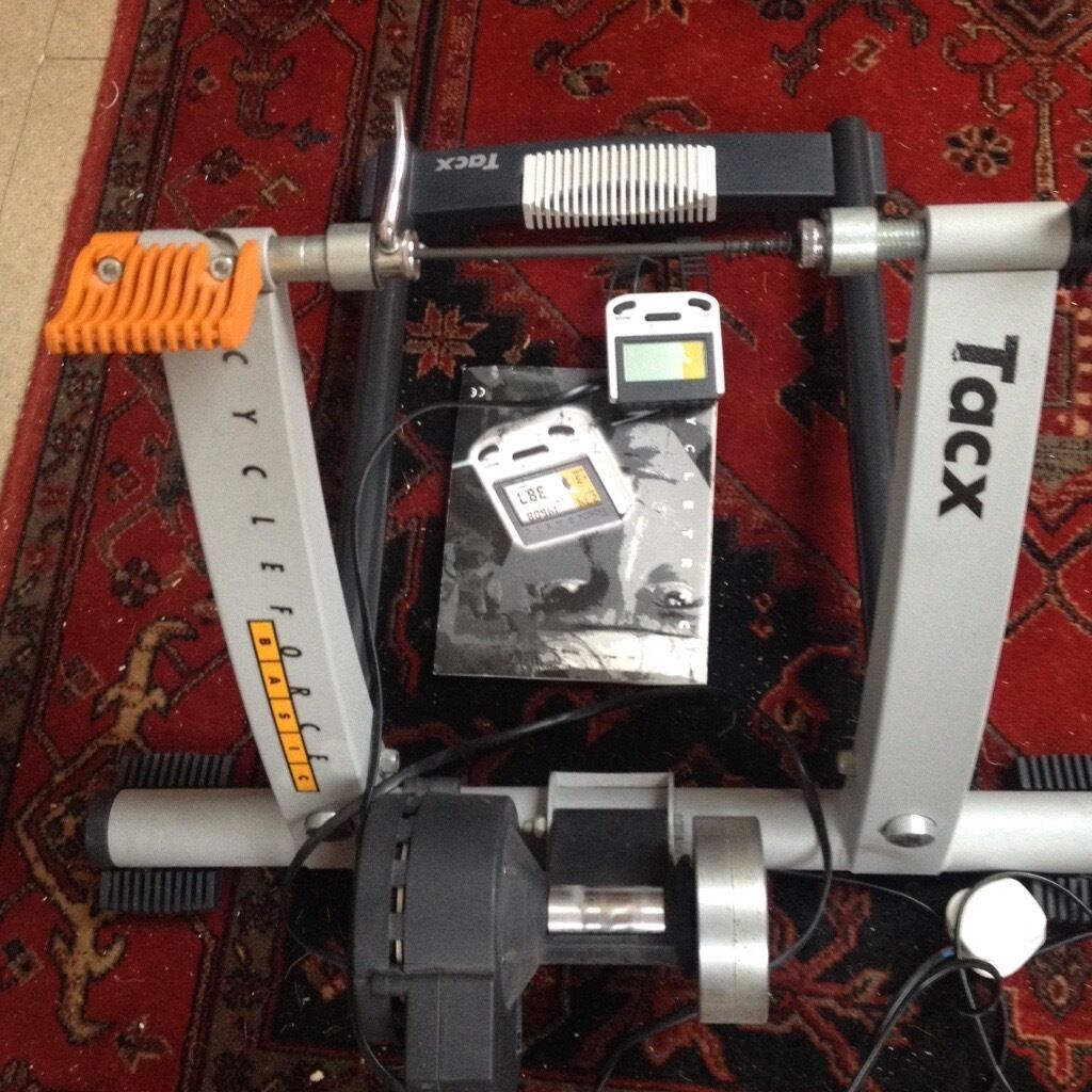 """Tacx """"CycleForce Basic"""" Turbo Trainer For Sale With Brand"""