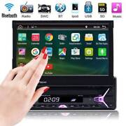 """Single 1DIN 7"""" HD Flip up Car Stereo MP5 MP3 Player Bluetooth Sydney City Inner Sydney Preview"""