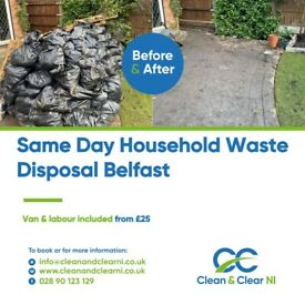 BELFAST ♻️RUBBISH REMOVAL♻️- SAME DAY -RELIABLE AND AFFORDABLE LOCAL WASTE CLEARANCE - MAN AND VAN🚛