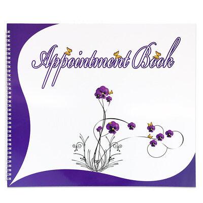 6 Columns Salon Beauty & Nails Schedule Planner Organizer Appointment Book 6 Column Appointment Book