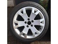 Zafira GSI alloy wheel