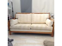 . Bargain. Large very good condition conservatory sofa and chair