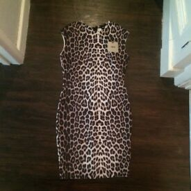 Brand new with tags Asos Size 8 Leopard dress