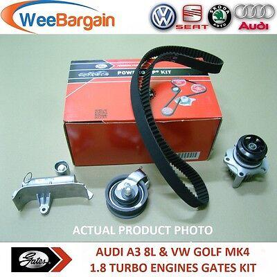 AUDI A3 VW GOLF IV 1.8 T FULL GATES KP15491XS Timing Belt Kit with Water Pump