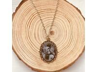 Pans Labyrinth Pale Man Silver Charm Necklace for sale  Worcester Park, London