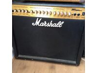 Marshall mg100dfx with footswitch