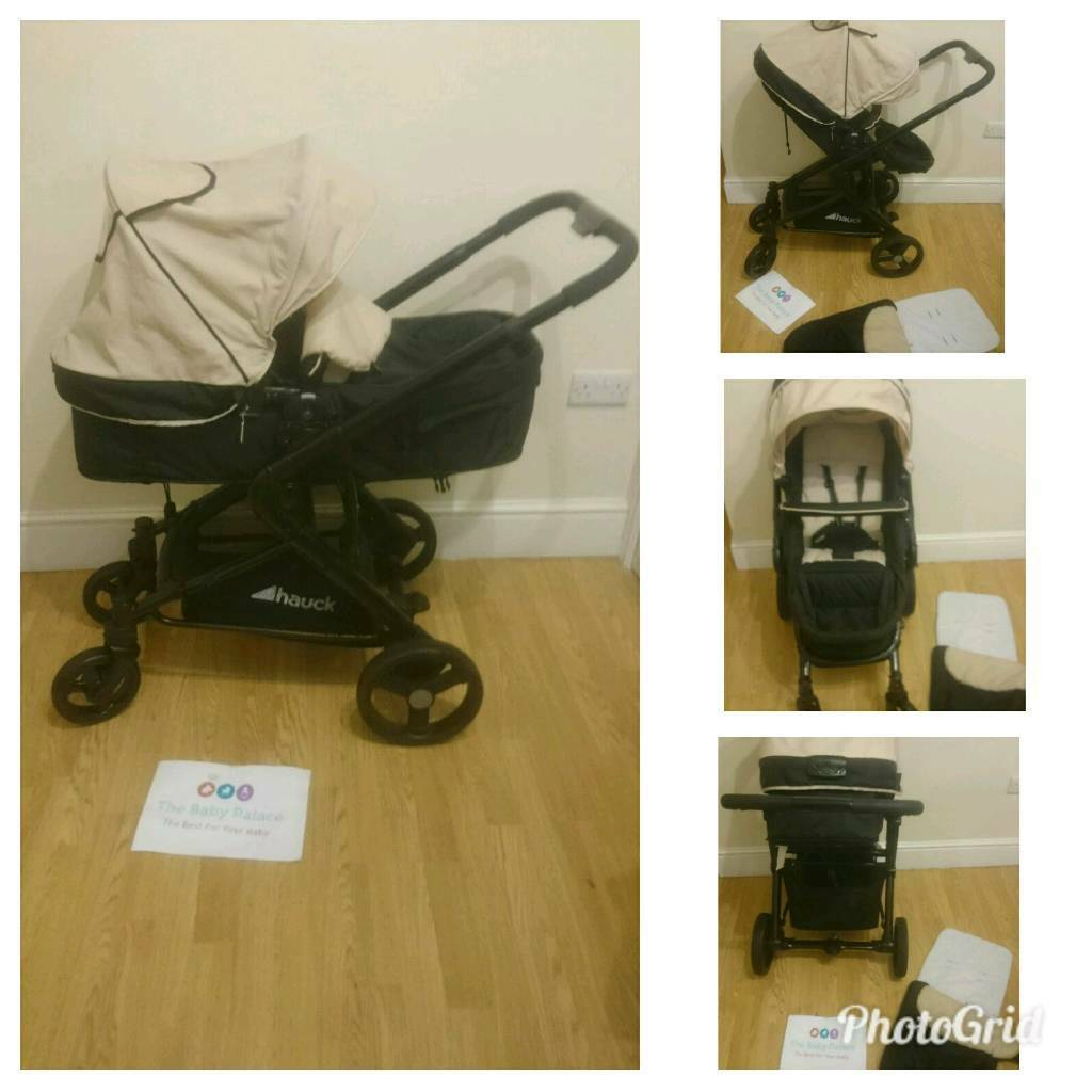 Hauck colt 2 in 1 with carrycot