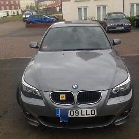 BMW 520D M-Sport Very Low Mileage (new MOT no advisory)