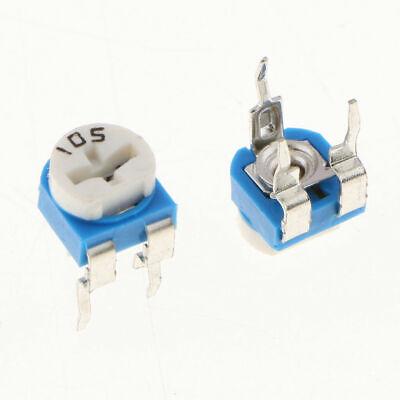 20pcs 1m 105 Adjustable Resistor Trimmer Potentiometer Rm065 - Us Seller