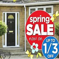 ENTRANCE DOORS  ☀ SPRING SALE ☀  SAVE 1/3 RD OFF NOW !