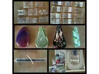 Job lot jewellery making supplies