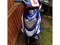 SUzuki katana ay50 FAST 50cc learner legal Moped!