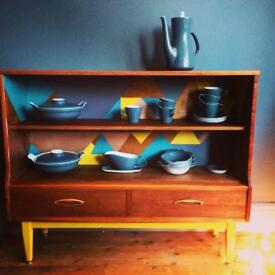 Upcycled mid century sideboard