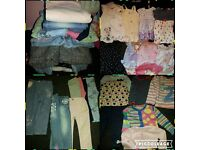 girls clothes bundle Age 1-2