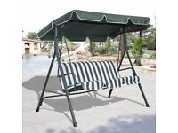 **FREE UK DELIVERY** 3 Seater Garden Patio Swing Hammock - BRAND NEW!
