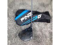 Golf club Ping g driver sf tec 12% Sr. 55 flex