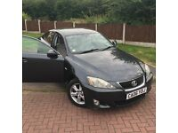 For sale Lexus is220d low miles very good condition