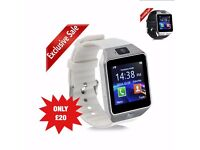 smartwatch black or white available