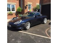 Porsche Boxter 2.7 Only 2 owners grey leather,