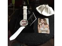 Good Condition Guess Watch With New Battery & Strap. Authenticity Card, Pouch & Box