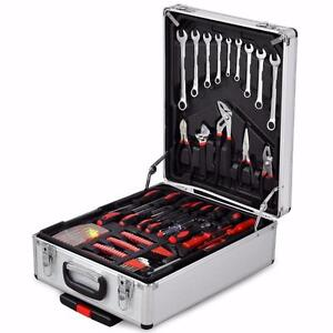 New 599 pc Tool Set Standard Metric Mechanics Kit Case hand tools Case portable