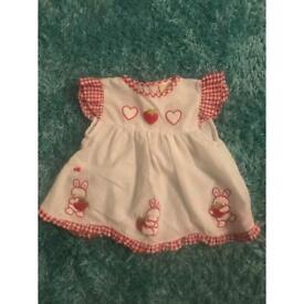 Strawberry dress 3-6 months