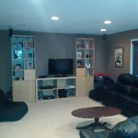 Tuscany basement for rent to university student